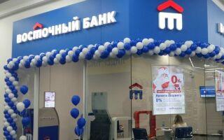 Банк Восточный Щелково