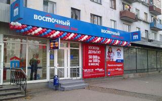 Банк «Восточный» отделения
