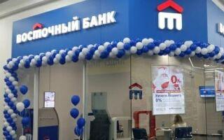 Банк «Восточный» ИНН